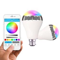 Si buscas Lampara Led Rgb Control Desde Celular Y Parlante Bluetooth puedes comprarlo con TUBELUXUY está en venta al mejor precio