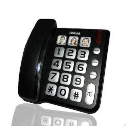 Si buscas Telefono De Mesa Microsonic Botones Extra Grandes Nnet puedes comprarlo con IMAGICFOTOGRAFIA está en venta al mejor precio