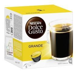 Capsulas Dolce Gusto Nescafe Sabor Cafe Grande
