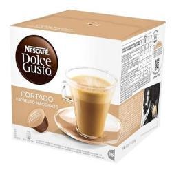Capsulas Dolce Gusto Nescafe Sabor Cafe Cortado