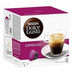 Capsulas Dolce Gusto Nescafe Sabor Cafe Espresso