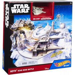 Hot Wheels Kit Star Wars Original Hasbro Batalla En La Base