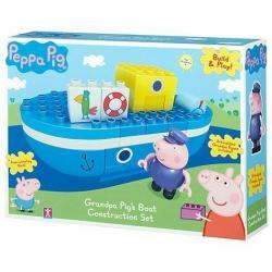 Peppa Pig Set De Navegacion Abuelo Completo Con Figuras Inc