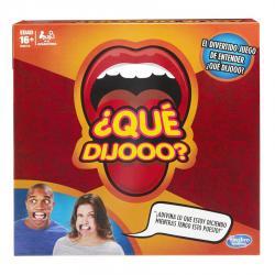 Juego De Mesa Hasbro Que Dijoo Incluye 10 Abrebocas