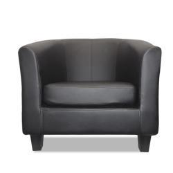 Sillon Sofá Poltrona En Eco Cuero Cedric Confort Calidad