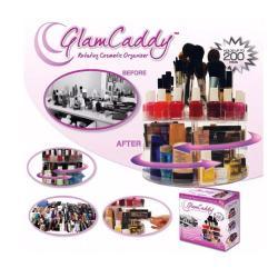 Organizador De Cosméticos Giratorio Glam Caddy Premium