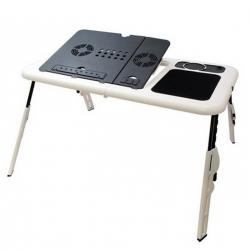 Mesa Plegable Para Notebook Y Netbook Con Fan Cooler Zgs-405
