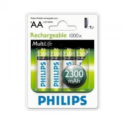 Si buscas Pack X4 Pilas Aa Recargables Philips 2300mah Camaras Mouse puedes comprarlo con PROFOTOMX está en venta al mejor precio