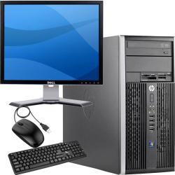 Computadora Pc Y Monitor 19 Core 2 Duo 250gb 4gb Ddr3 W7 Dvd