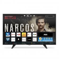 Televisor Tv Led 43 Smart Aoc Isdbt Le43s5970