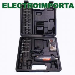 Mini Torno Taladro 12v Powermaq - Electroimporta