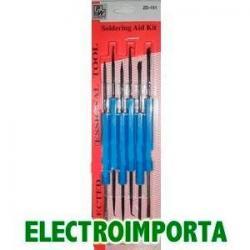 Herramientas De Soldar Power`s - 6pcs - Electroimporta