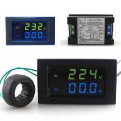 Tablero Eléctrico Volt - Amp 0-100a 80-300v Electroimporta