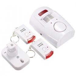 Alarma Con Sensor De Movimiento Y 2 Controles Electroimporta