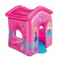 Barbie Casita Infantil Inflable Jardin Carpa Hasta 2 Niños