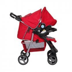 Coches Bebe Con Baby Silla Infanti Pompeya Rojo Pcm