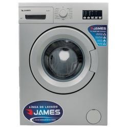 Lavarropas James Lr1007 Silver 6kg 1000 Rpm 15 Programas Pcm