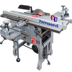 Preventa Combinada Carpinteria Escuadradora 3hp 30cm 7func