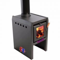Estufa Calefactor A Leña Tromen Alto Rendimiento Tr5000 65m2