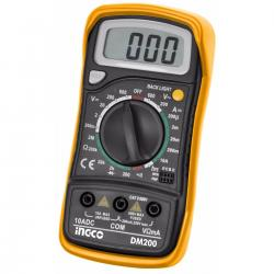 Tester Multimetro Digital Ingco Dm200 Iec1010 Profesional