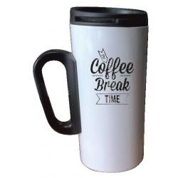 Jarra Coffee Break Time Acero Inox Gold Dragon