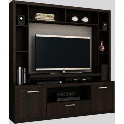 Modular Rack Aparador Tv 55 Audio Panel Diseño Moderno 1706