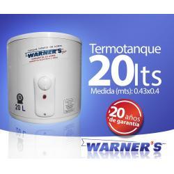 Termotanque Calefon Tanque Cobre 20 Lts Warners Punion