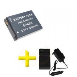 Si buscas Batería Y Cargador Bp-85a Para Cámara Samsung St201 Pl211 Y+ puedes comprarlo con PROFOTOMX está en venta al mejor precio