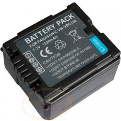 Batería Vw-vbg130 Para Cámara Filmadora Panasonic Sdr-h18 Y+