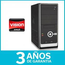 Equipo Armado Pc Amd Dual Core 8gb 250gb Dvd Nuevo 3 Años