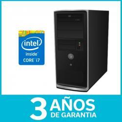 Equipo Armado Pc Intel Core I7 4ta Gen 4gb 2tb Dvd 3 Años