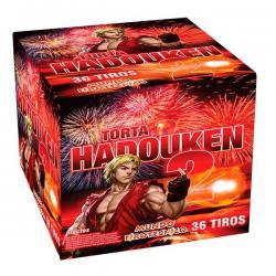 Si buscas Pirotecnia-torta Hadouken 2 - 36 Tiros - 1 Un puedes comprarlo con Deportronics está en venta al mejor precio