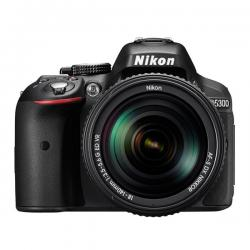 Camara Digital Srl Nikon D5300 24.2mp Lente 18-55mm Reflex