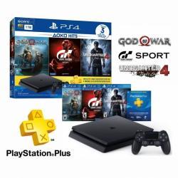 Consola Sony Playstation 4 1tb Slim Con 3 Juegos