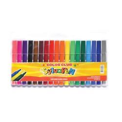 Marcadores De Colores Sylvapen Gruesos Pack X18 Febo