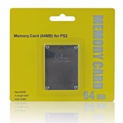 Memory Card Ps2 64mb Megas Tarjeta De Memoria Playstation 2