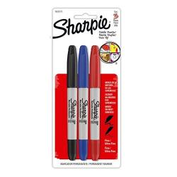 Marcadores Permanentes Sharpie Doble Fino/ultra Pack X3 Febo