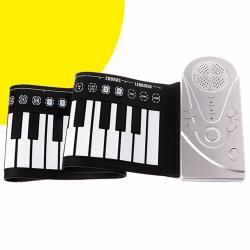 Piano Flexible Plegable Portátil 49 Teclas Multiples Efectos