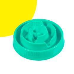 Bowl Mini Plato De Comida Mascota Anti Reflujo Ayuda A Jugar