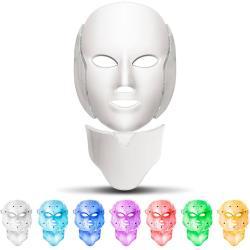 Mascara Fototerapia Colores Rostro Y Cuello Rejuvenecimiento