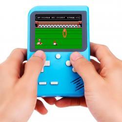 Consola De Juegos Portátil Retro 8 Bits Recargable 168 Game