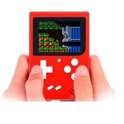 Consola De Juegos Portátil Retro 8 Bits Recargable 400 Game