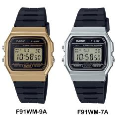 Reloj Casio F91wm Cronometro Alarma Calendario 100% Original