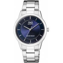 Reloj Q&q Plateado Hombre Qa44j205y