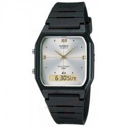 Reloj Casio Aw-48he Negro Hombre