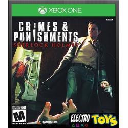Xbox One Sherlock Holmes Crimes & Punishments Nuevo Fisico