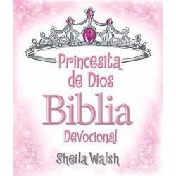 Biblia Devocional Princesita De Dios Sheila Walsh, Tapa Dura