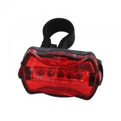 Si buscas Luz Trasera De Seguridad Para Bicicletas 5 Flash Led Rojos puedes comprarlo con URQUIZA MOTOS está en venta al mejor precio