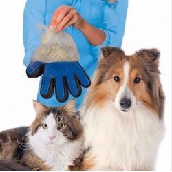 Guante Masajeador De Silicona Para Mascotas Perros Gatos
