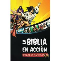 La Biblia En Acción Biblia De Estudio